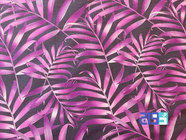 خرید پارچه ملحفه طرح هاوایی رنگ بنفش