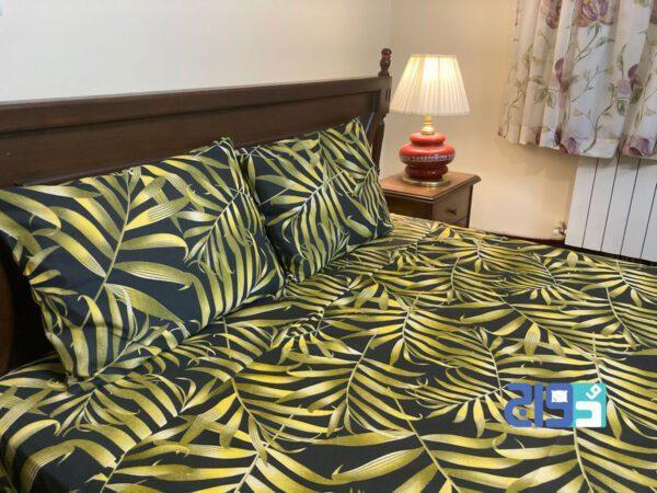 سرویس خواب رنگ طلایی