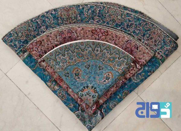 رومیزی و ترمه یزد با قیمت عمده و ارزان